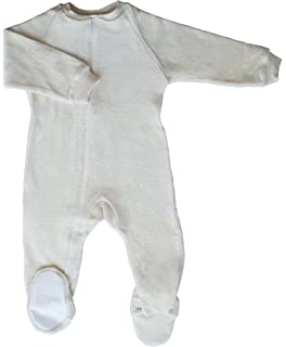076a961d3 Amazon.com  CastleWare Baby- Footie Pajama - Organic Cotton Fleece ...