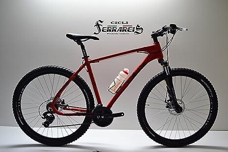 MTB 29 Bicicleta MTB 29 de aluminio roja 7005 personalizable ...