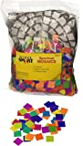 School Smart Spectrum Mosaics - 3/4 inch - Pack of 4000 - Assorted Colors