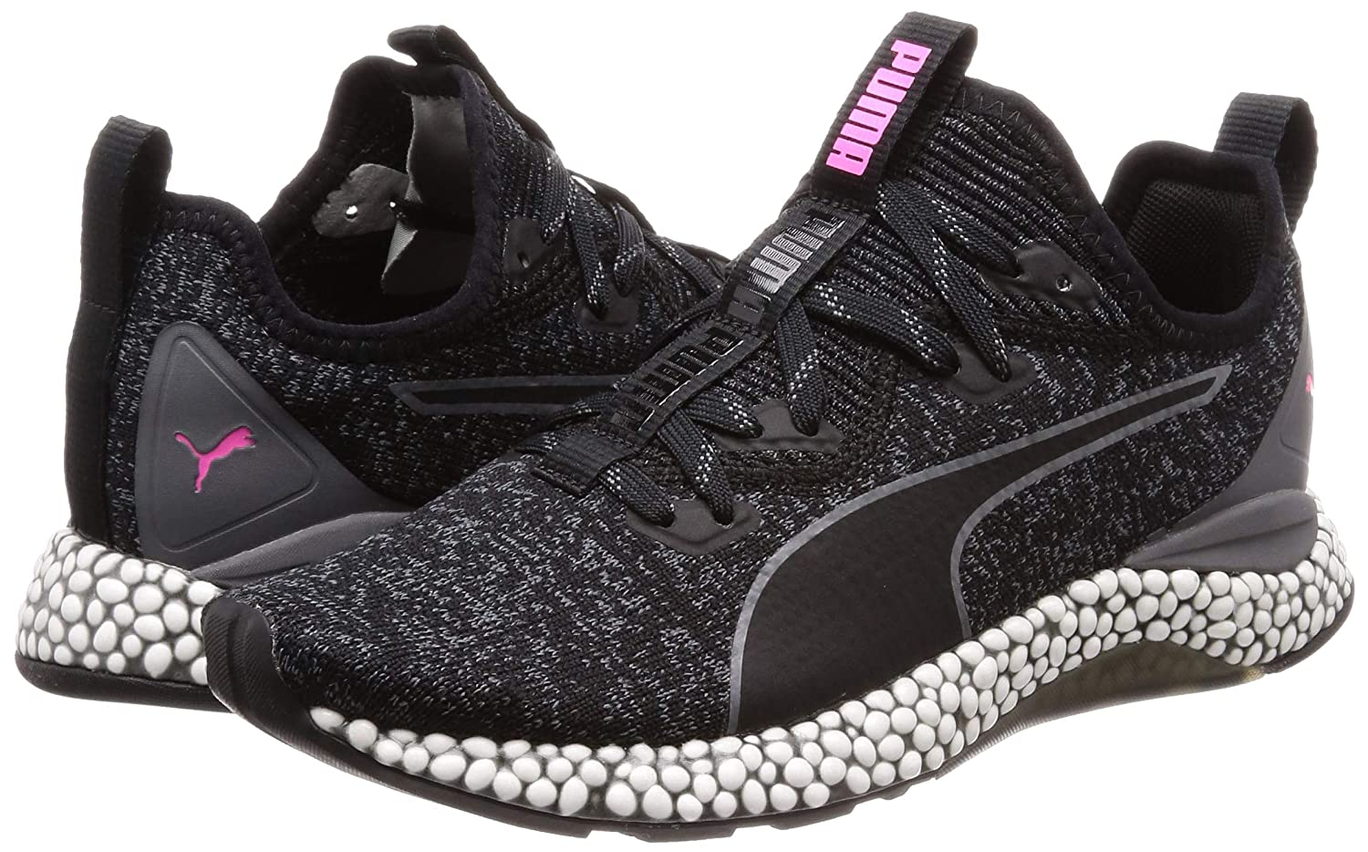 18bb413867134f Women s Hybrid Runner WNS Black-Iron Gate-Knockout Pink Running Shoes-6 UK  India (39 EU) (4059506449918)  Amazon.in  Shoes   Handbags