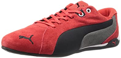 Puma Racing Cat S 304698 04 suede sneakers men Red 9.5 UK  Amazon.co ... e226d7c3ad