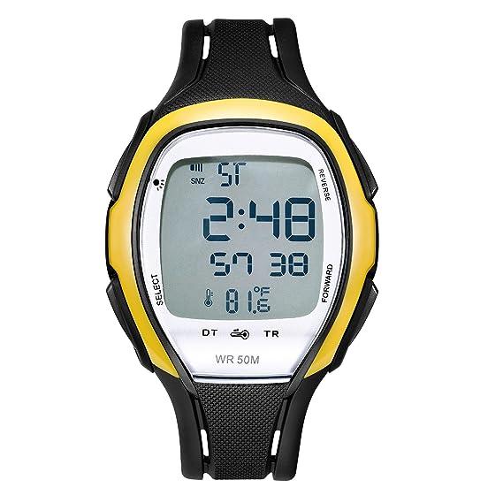 Digital Relojes Impermeable electrónico multifunción Reloj ...