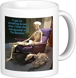 The Black List Skeleton Mug