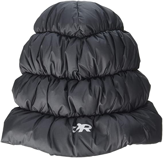 Beautiful Windproof Camping Tent Sleeping Bag Sleeping Hat Winter Thermal Down Cap Trooper Hunting Trapper Hat Unisex W/ Compression Sack Sports & Entertainment