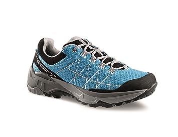Scarpa Trail Zapatos Helium GTX Mujer Azure/Silver, Mujer, Color Azure-Silver, tamaño 37: Amazon.es: Deportes y aire libre