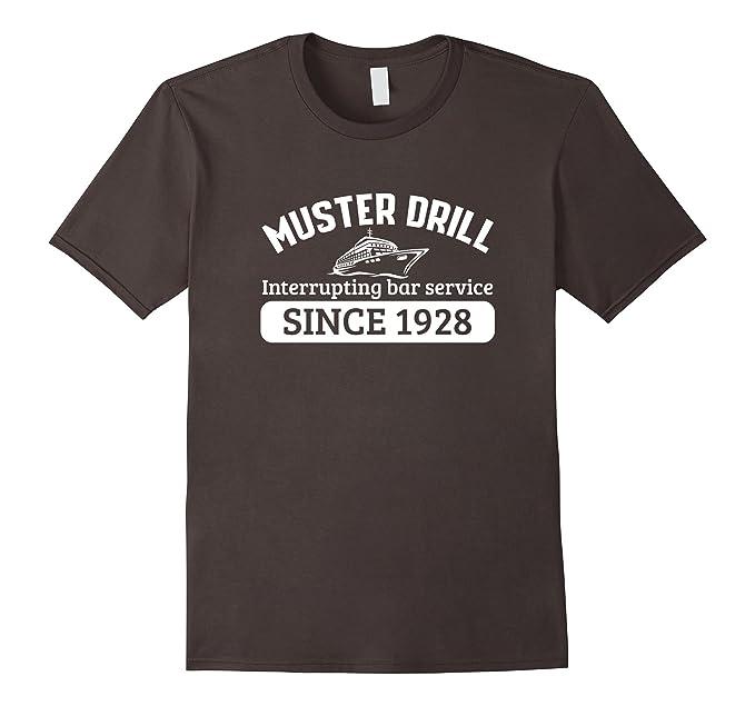 Amazon.com: Muster Drill interrupting bar service 1928 funny t-shirt ...