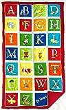 """Weighted Sensory Blanket - 25"""" x 45"""" - 8 lbs - Alphabet Seuss"""
