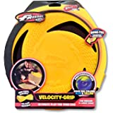 Wham-O Pets Velocity-Grip Dog Frisbee Disc, Yellow