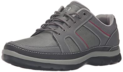Rockport Men's Get Your Kicks Mudguard Blucher Oxford, Castlerock Grey, ...