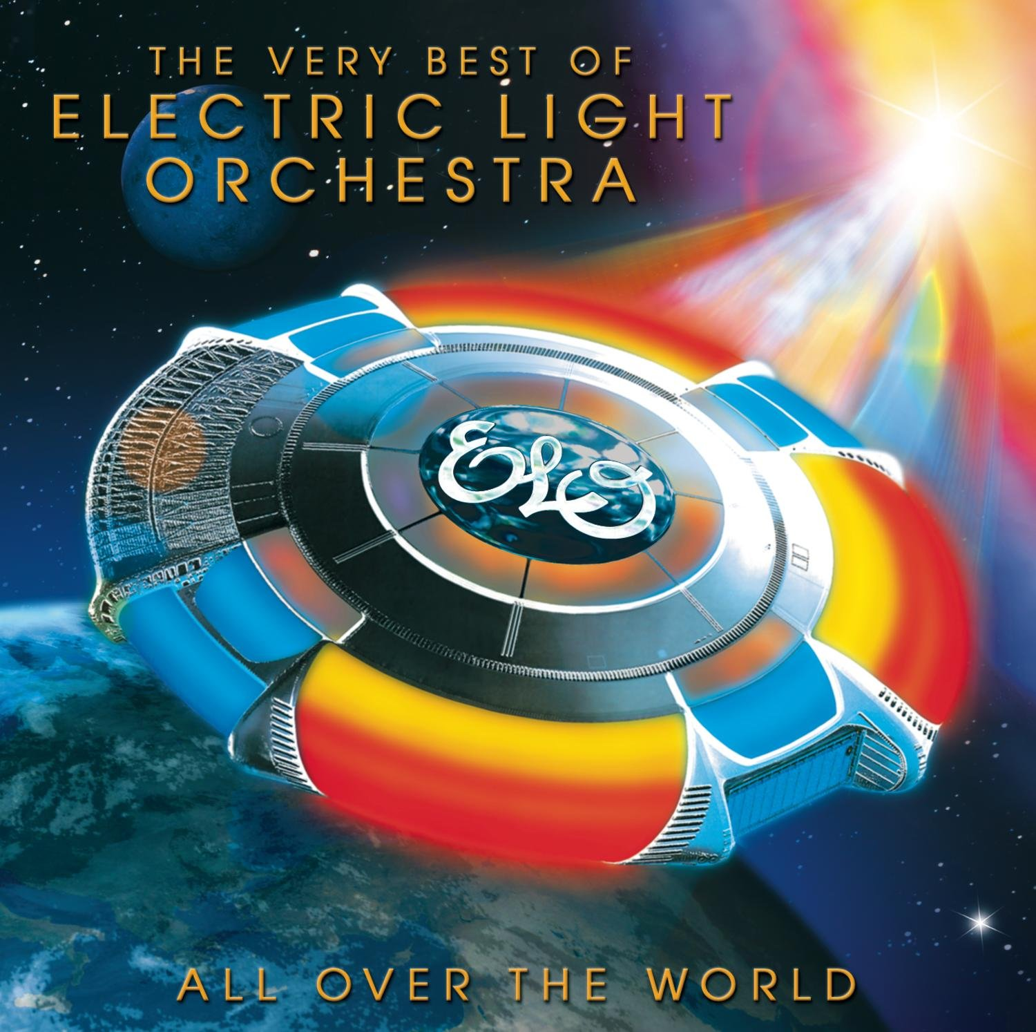 CD : ELO - All Over the World: Best of Electric Light Orch (Remastered)