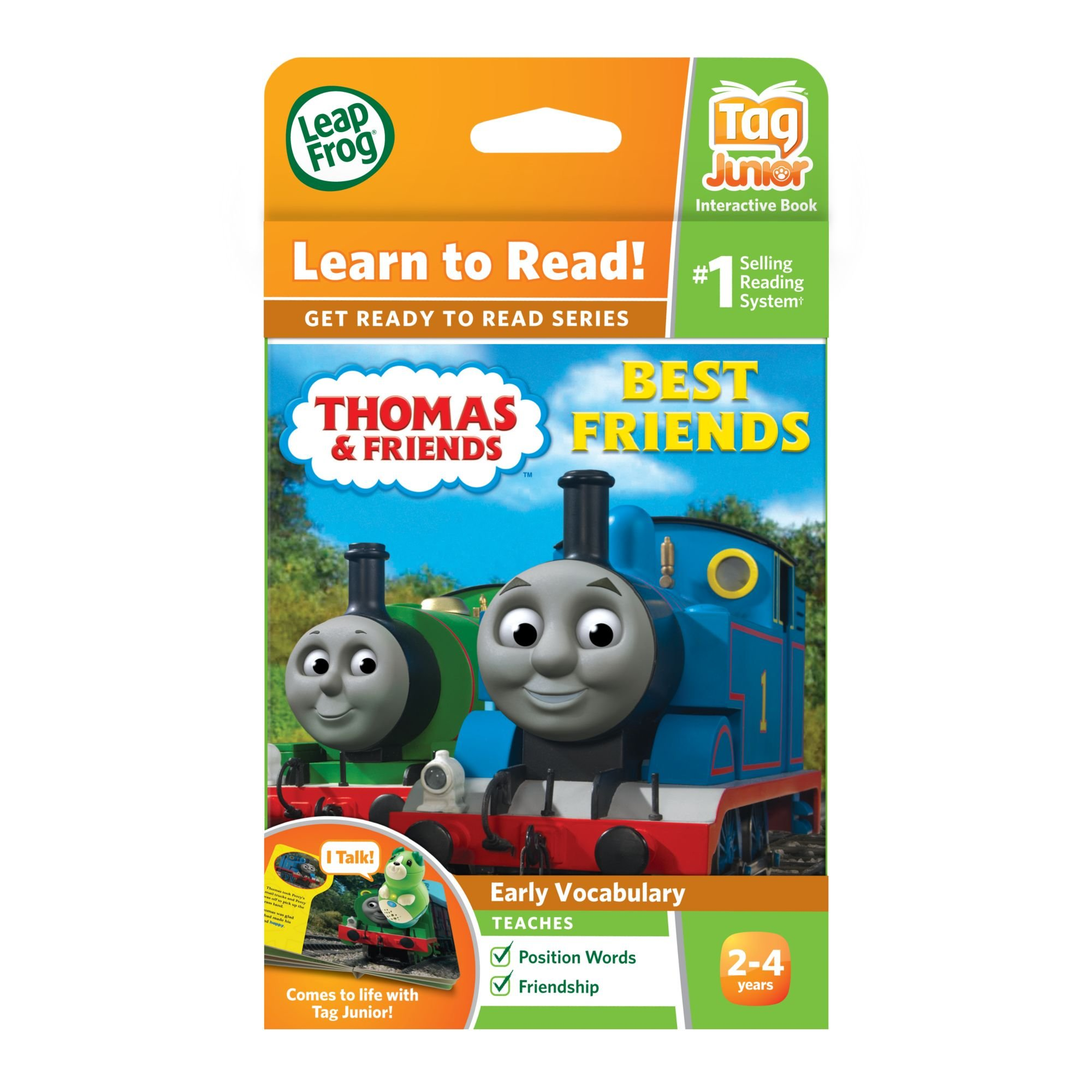 LeapFrog LeapReader Junior Book: Thomas & Friends: Best Friends (works with Tag Junior) by LeapFrog (Image #4)