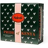 Nairobi Pride of Kenya Tea - 100 String & Tag Tea Bags / 100 Bustine di Tè