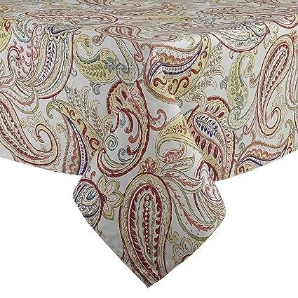 Fiesta Paisley Tablecloth, Multicolor