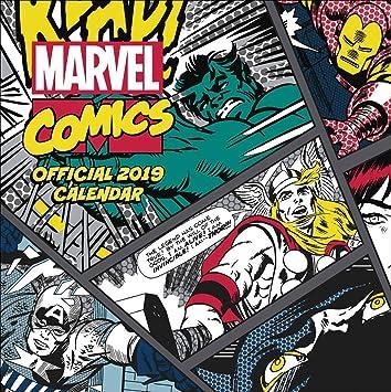 Calendario 2019 Marvel Comics - Hulk - Spiderman - THOR ...