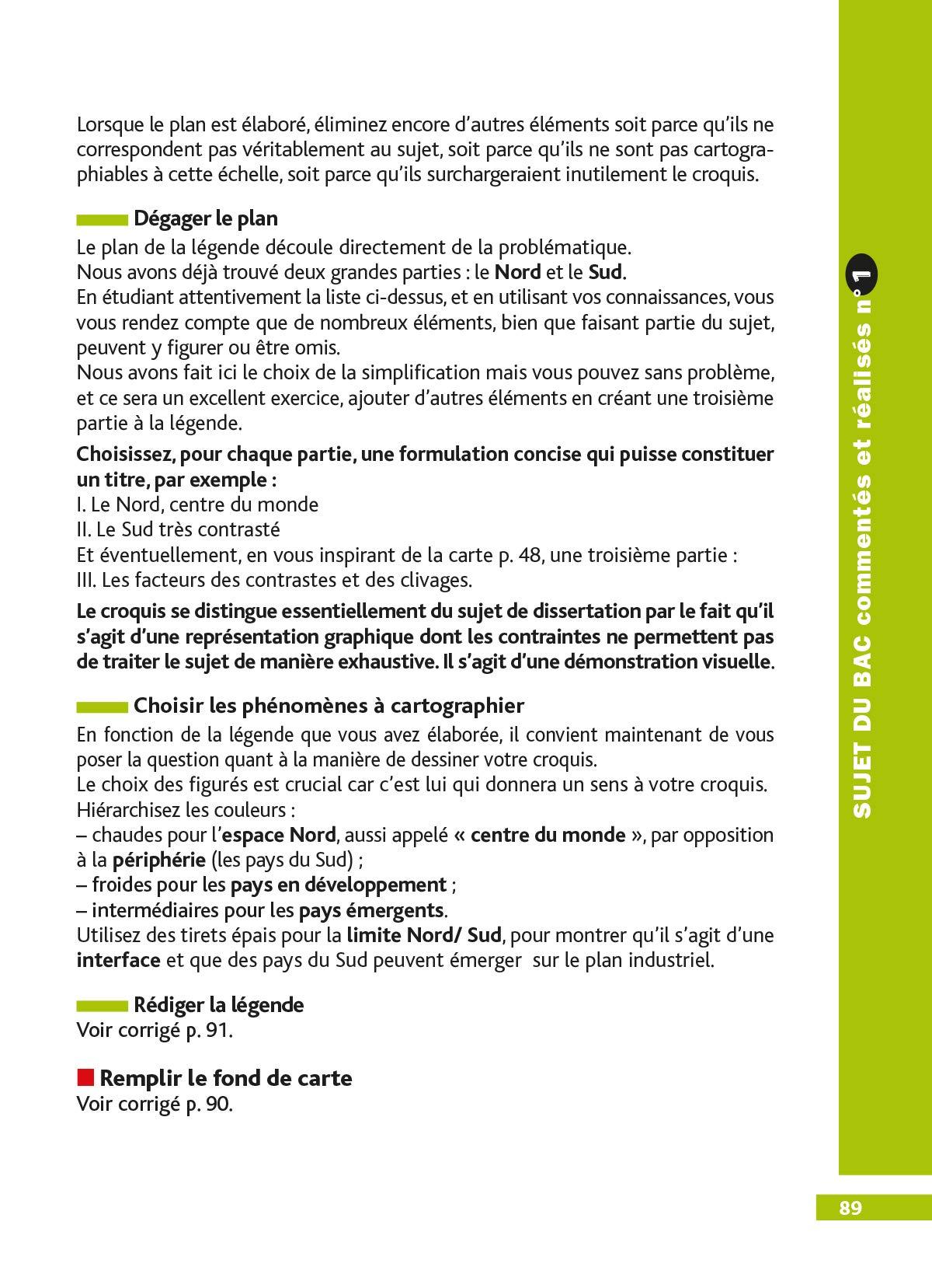 DéfiBac Cours/Méthodes/Exos Croquis de Géographie Terminale L/ES/S: 9782047356241: Amazon.com: Books