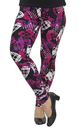 7ed41e6a03c104 Image Unavailable. Image not available for. Colour: ColorOctopus Womens  Printed Multicolor Leggings