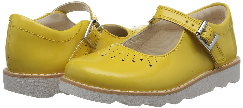 Chaussures de Ville /à Lacets pour Fille Jaune Jaune Clarks Crown Jump
