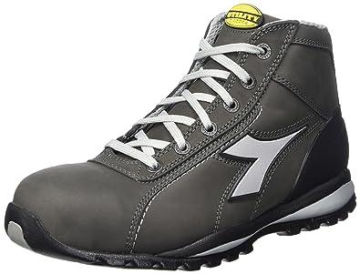 Diadora - Glove Ii High S3 Hro, zapatos de trabajo Unisex adulto, Gris (