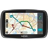 TomTom GO 51 World Traffic Navigationssystem (12,7 cm (5 Zoll) resistives Touch Display - Bedienung per Fingergesten, Lifetime TomTom Traffic & Maps, Weltkarten)