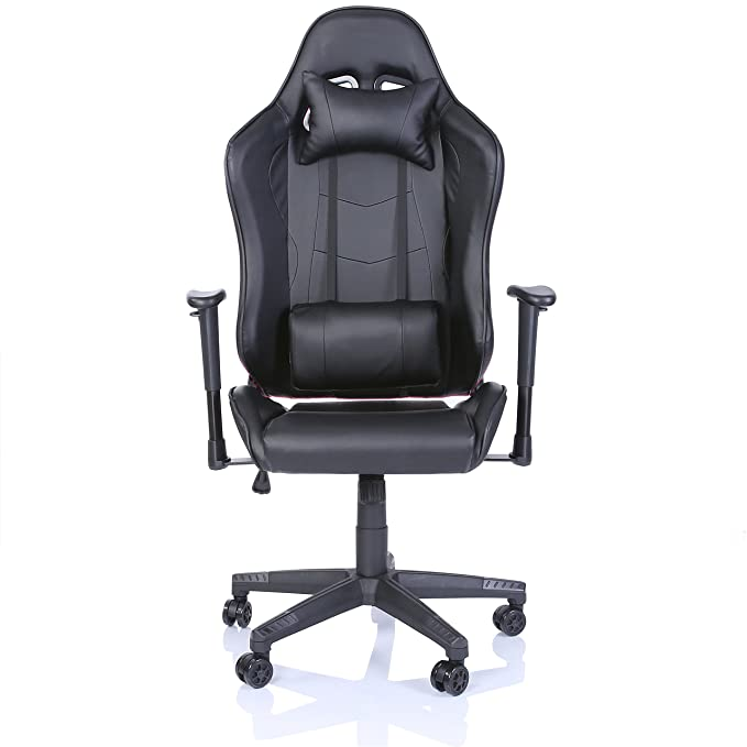 TRESKO Silla de oficina Racing Gaming silla de escritorio ordenador giratoria dirección, disponible en 6 variantes de colores, mecanismo basculante, ...