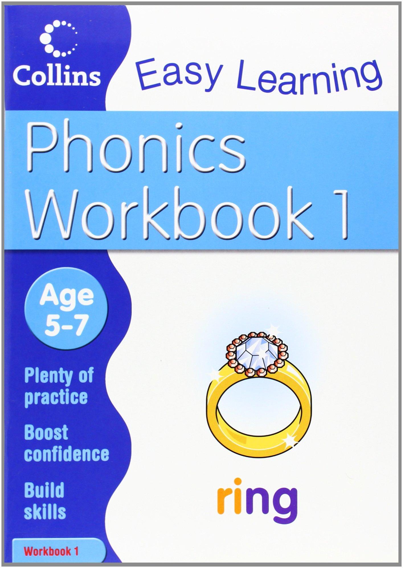 Phonics Workbook 1 (Collins Easy Learning Age 5-7) pdf epub