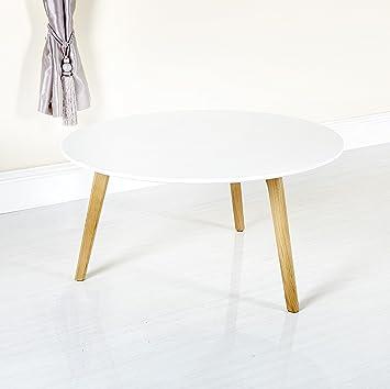 White Round Coffee Table Uk 6