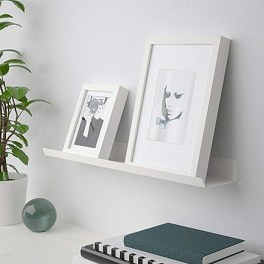 Ikea MALMBACK - Marco de fotos (60 cm), color blanco: Amazon ...