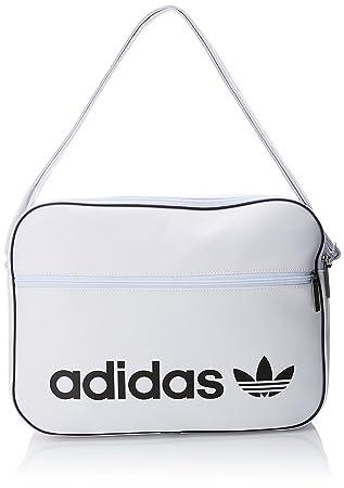 adidas Airliner Vint, Bolso bandolera Unisex Adulto, (Blanco), 24x15x45 cm (W x H x L): Amazon.es: Zapatos y complementos