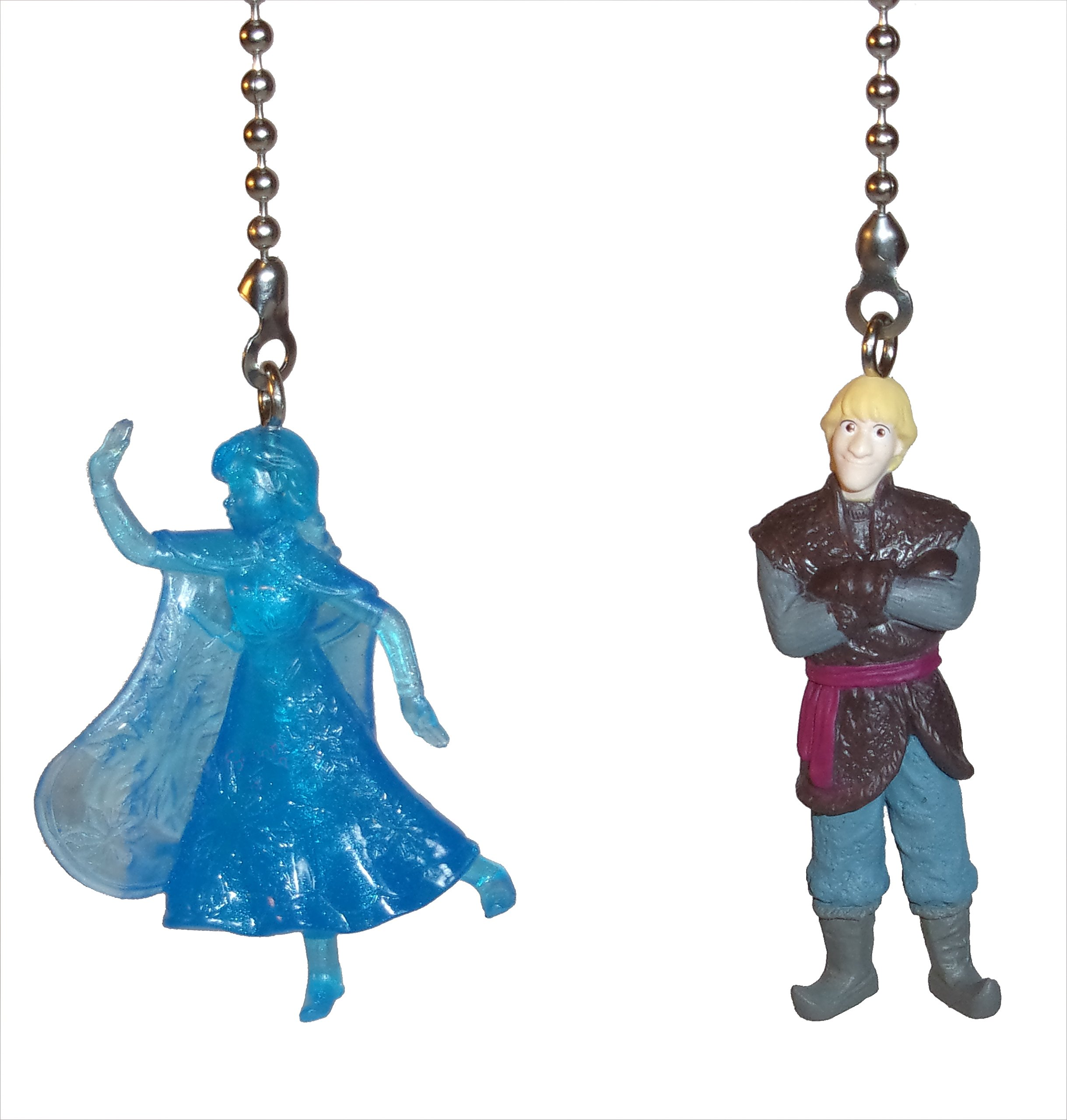 Frozen Elsa Anna Sven Olaf Kristoff Ceiling Fan Pulls by Wooden Androyd Studio (Anna Kristoff 3)