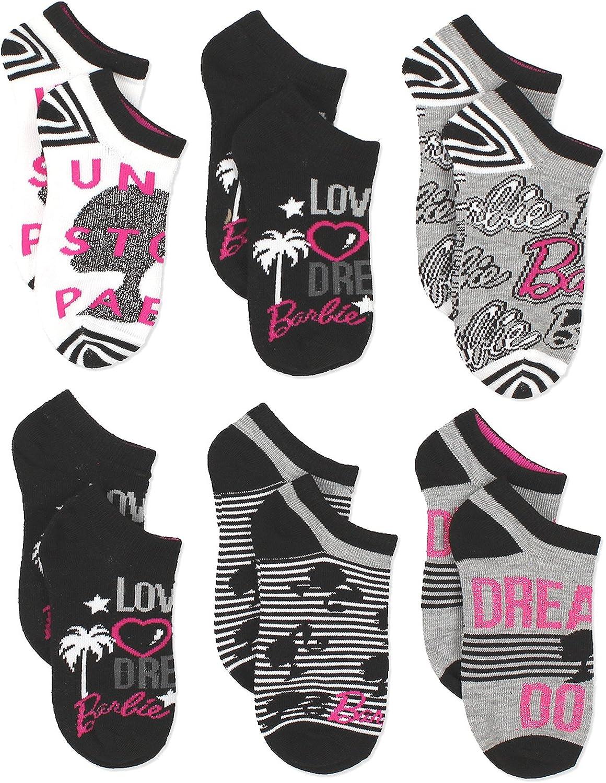 Barbie Womens Socks