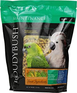 RoudyBush Daily Maintenance Bird Food, Medium, 44-Ounce