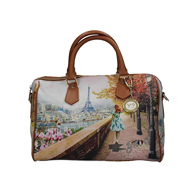 Borsa Y Not bauletto Parigi Tour Eiffel 318  Amazon.it  Scarpe e borse 8ca4c4ba21e