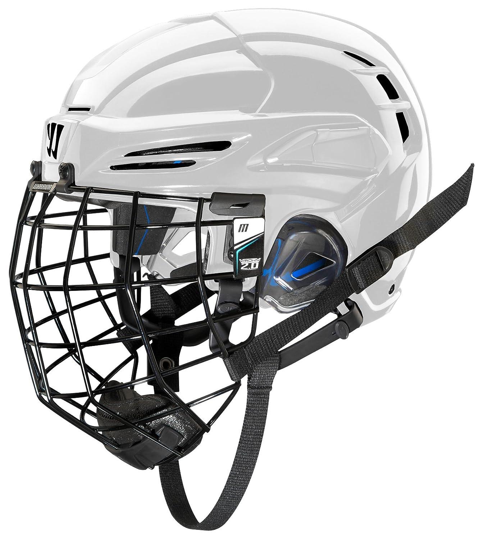 COVERT PX2HC6WHSケージ付き戦士アイスホッケー選手用ヘルメット、白、小