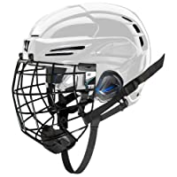 COVERT PX2HC6WHS Warrior Ice Hockey Players Helmet with Cage, White, Small