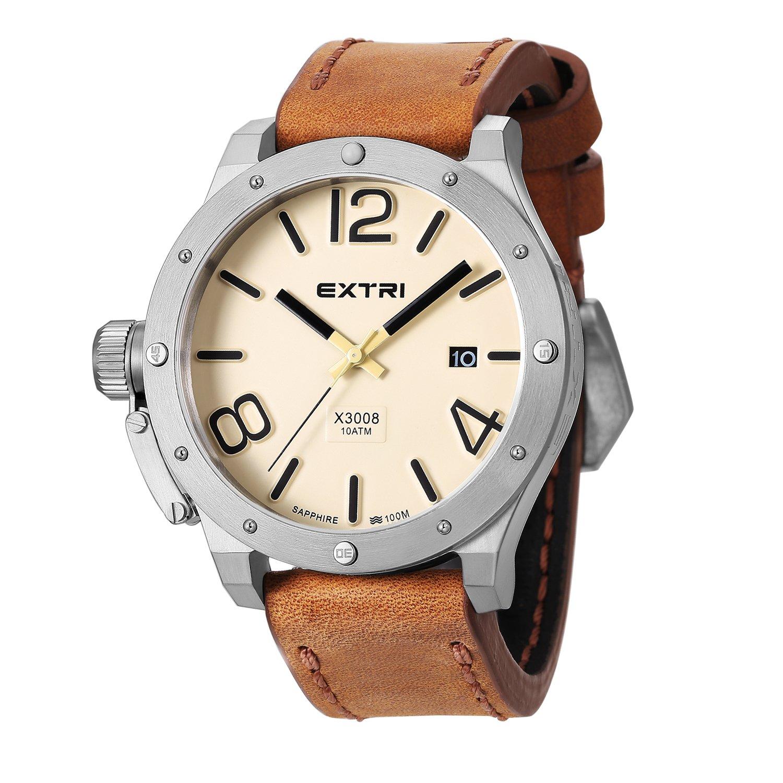 Extri Herren-Armbanduhr X3008D