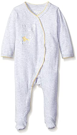 afebca043c6 Sterling Baby by Vitamins Girls' Asymetrical Coverall, Bunny, 6 Months