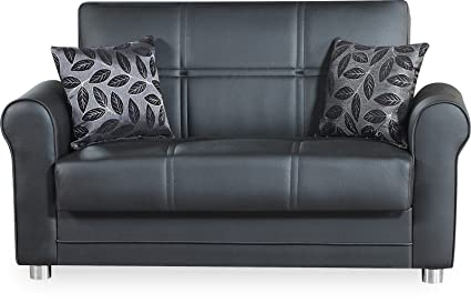Tremendous Amazon Com Casamode Avalon Plus Loveseat Zen Black Gamerscity Chair Design For Home Gamerscityorg