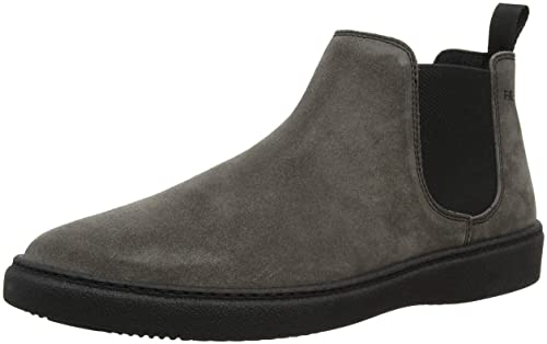 FRAU Scarpa Uomo Sneaker a Collo Alto Grigio Lab 79c1d7119f9