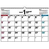 2017年 書き込み式シンプルカレンダー A3ヨコ ([カレンダー])
