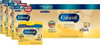 Enfamil 121.8oz Infant Baby Formula Powder Combo Pack
