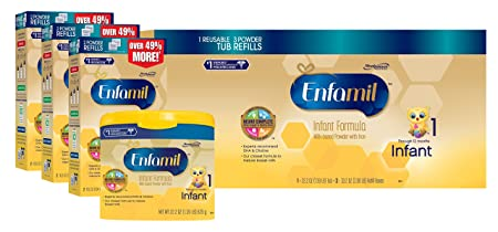 Amazon.com Enfamil Infant Baby Formula-121.8oz Powder Combo Pack for $83.40 (5% S&S) or $69.50 (15% S&S)