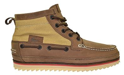 Sauville Pour Hommesmarron Mid Montantes Lacoste 3 Chaussures jq4A3RLc5