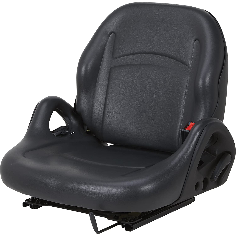 Amazon.com: K & M Universal Replacement Forklift Seat - Black, Model# 8001:  Home Improvement