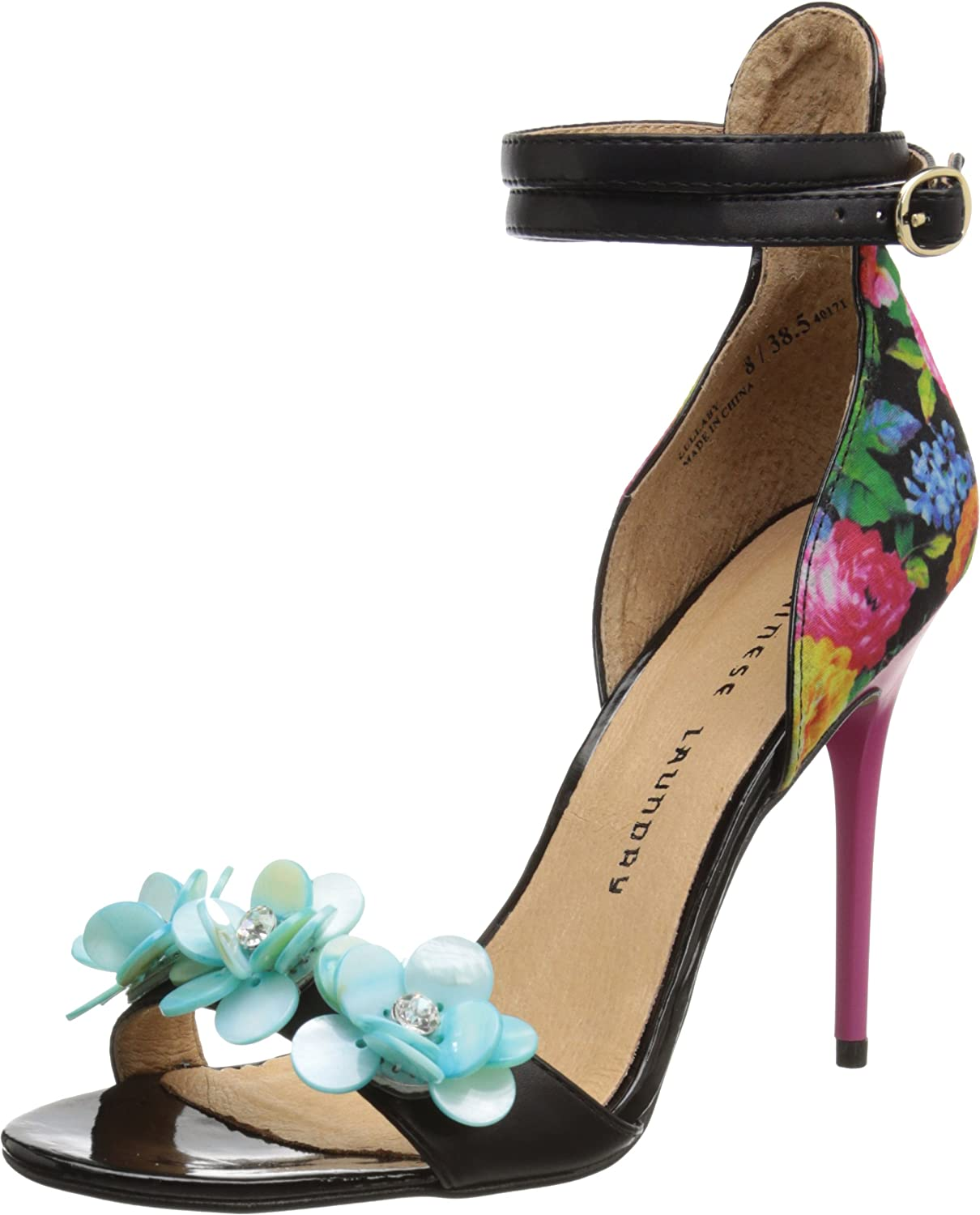 CL by Chinese Laundry Womens Anslee Floral Lac Dress Pump