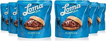Loma Linda Blue - Vegan Meal Solution - Sloppy Joe (10 oz.) (Pack of 6) - Non-GMO, Gluten Free