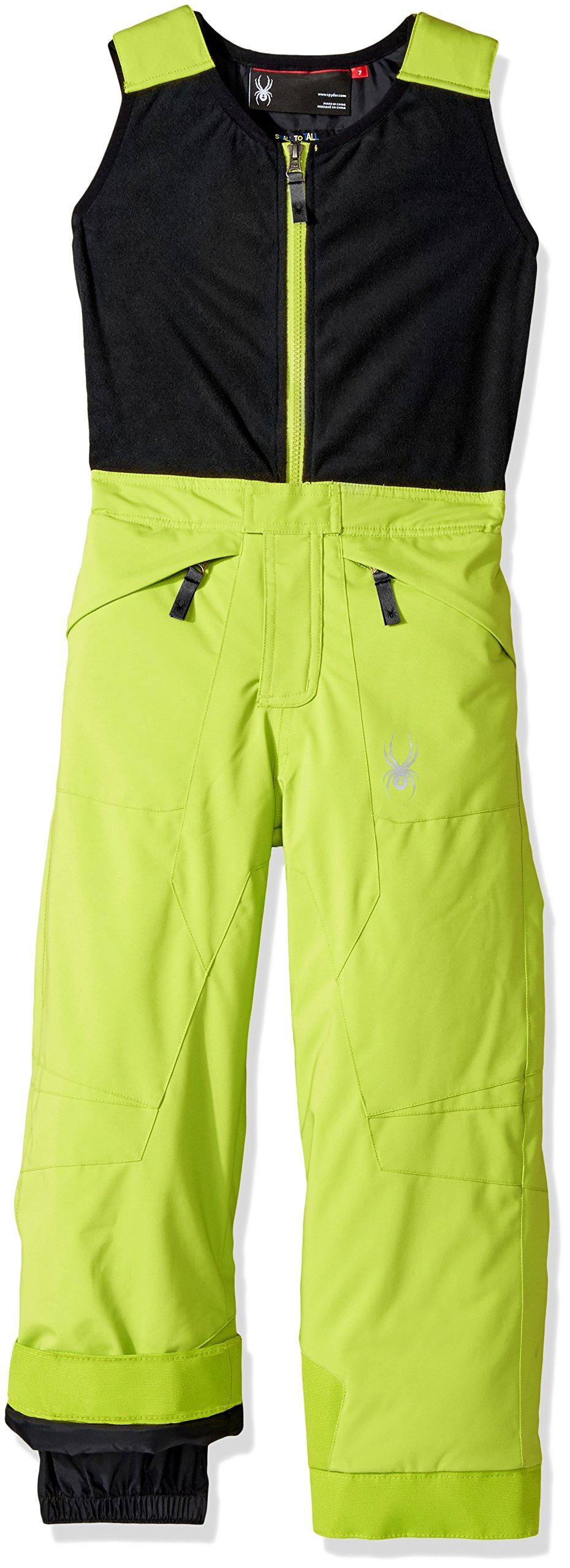 Spyder Mini Expedition Ski Pant, Bright Yellow/Black, Size 4 by Spyder