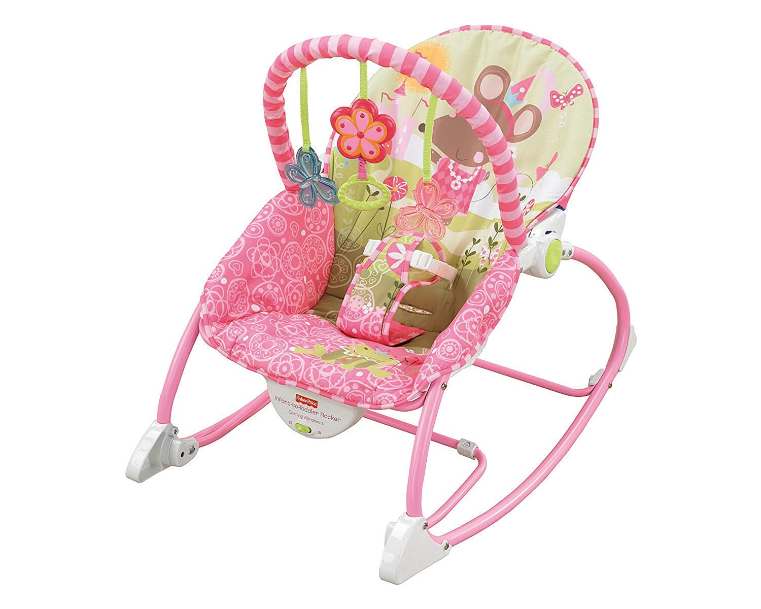 Fisher-Price Infant-to-Toddler Rocker, Princess Mouse