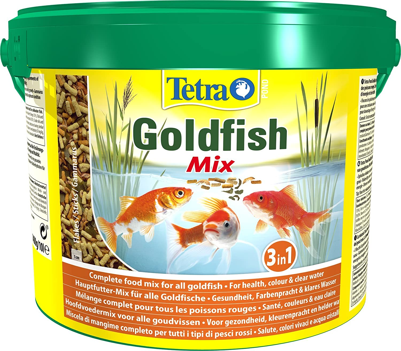 Tetra Pond Goldfish Mix 10 L Amazon Pet Supplies