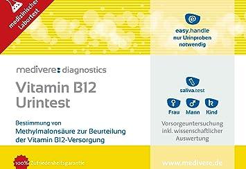 Vitamina B de prueba de 12 orina