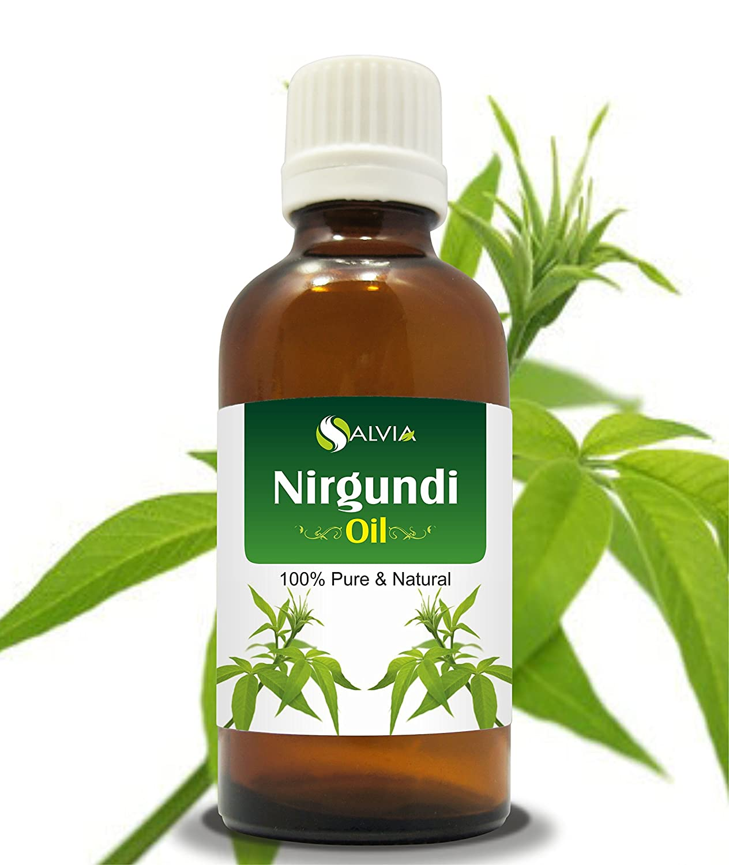 NIRGUNDI OIL 100% NATURAL PURE UNDILUTED UNCUT ESSENTIAL OIL 50ML Salvia